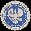 Siegelmarke K. Landraths-Amt Calau W0387108.jpg