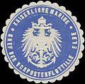 Siegelmarke K. Marine Chef der Vorpostenflottille Elbe W0357566.jpg
