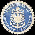 Siegelmarke Kaiserliche Marine - Artillerie Depot zu Geestemünde W0221029.jpg