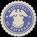 Siegelmarke Magistrat zu Rathenow W0349363.jpg
