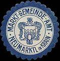 Siegelmarke Markt-Gemeinde-Amt Neumarktl in Krain W0320512.jpg