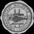 Siegelmarke Oberamtsstadt Waldsee Württemberg W0386627.jpg