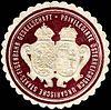 Siegelmarke Privilegirte Österreichisch Ungarische Staats - Eisenbahn Gesellschaft W0213061.jpg