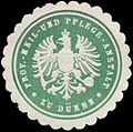 Siegelmarke Prov.-Heil- und Pflege-Anstalt zu Düren W0383956.jpg
