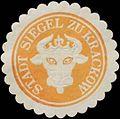 Siegelmarke Stadt Siegel zu Krakow - Mecklenburg W0393701.jpg