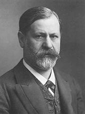 Sigmund Freud auf einer Porträt-Fotografie um 1905 von Ludwig Grillich (Quelle: Wikimedia)