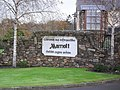Sign at Druids Glen Marriott Hotel - geograph.org.uk - 1582872.jpg