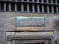 Sign at Warwick Old Gaol - geograph.org.uk - 257408.jpg