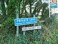 Signs, Drumhirk Way, Newtownards - geograph.org.uk - 1721583.jpg