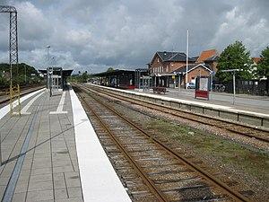 Skanderborg-Skjern Line - Silkeborg station