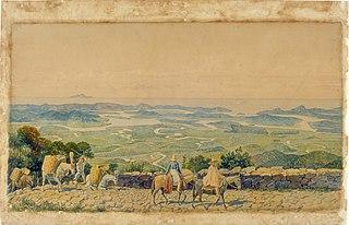 Caminho do Mar - Calçada de Lorena, 1826