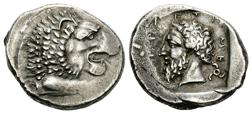 Silver stater of Mithrapata of Lycia (c. 390–370 BC)
