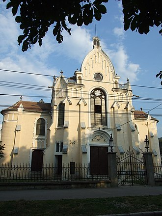 Bistrița - The Synagogue