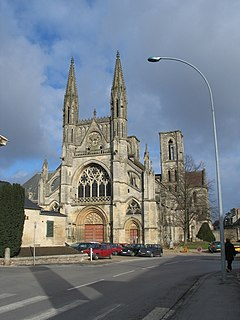 Abbey of St. Martin, Laon abbey located in Aisne, in France