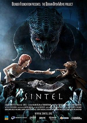 English: Sintel poster