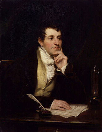 Humphry Davy - Sir Humphry Davy, Bt by Thomas Phillips National Portrait Gallery, London