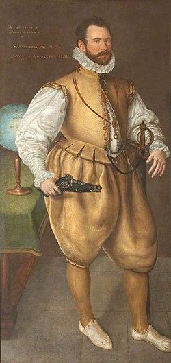 Sir martin frobisher by cornelis ketel