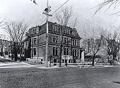 Sir William C. Van Horne house, Sherbrooke St. at Stanley St., Montreal, QC, about 1890.jpg