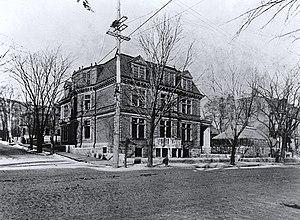 Van Horne Mansion - The Van Horne Mansion, c. 1890
