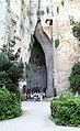 Siracusa, orecchio di Dionisio. Esterno - panoramio.jpg