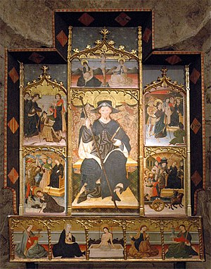 Blasco de Grañén - Altarpiece venerating St. James