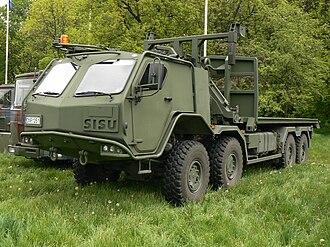 Sisu Auto - Sisu E13TP 8×8 military truck of the Lithuanian Armed Forces