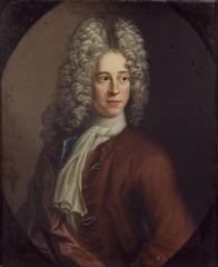 Self-portrait of Lukas von Breda