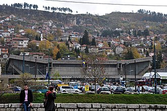 KK Bosna Royal - Skenderija Sports Center, home of KK Bosna Royal.