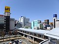 Skyline of Akita City 20170401.jpg