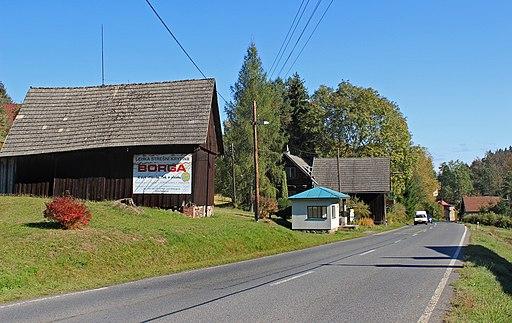 Slaná, Hořensko, middle part