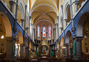 George Goldie (architect) - Interior of the Cathedral of the Immaculate Conception, Sligo