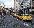 Smíchov, Nádražní, taxíky u Anděla.jpg