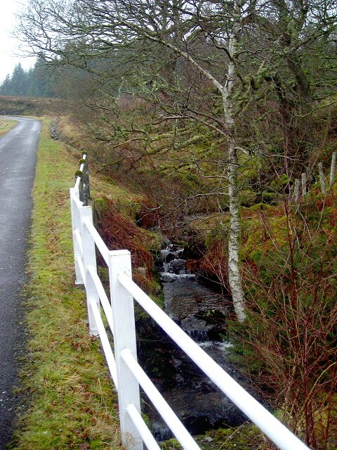 Small Burn Beside Loch Katrine Road - geograph.org.uk - 689631
