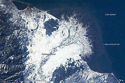 Snowfall on the Selenga River Delta, Russia - NASA Earth Observatory.jpg