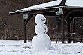 Snowman in Rochester, New York-20Feb2010.jpg