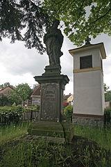 Socha svatého Jana Nepomuckého