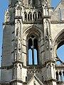 Soissons (02), abbaye Saint-Jean-des-Vignes, abbatiale, tour nord, 1er étage, vue depuis l'ouest 1.jpg
