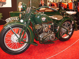 History of the motorcycle - A pre-war Polish Sokół 1000