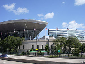 Sports in Chicago - Soldier Field is the home of the Bears.