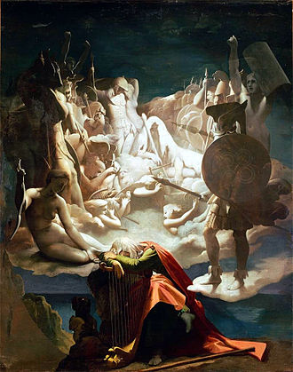 Ossian - Ossian's Dream, Jean Auguste Dominique Ingres, 1813