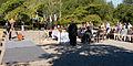 Sonoma Mountain Zen Center - 01 - Waiting for the ceremony to start.jpg