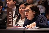 Soraya Álvarez Núñez Permanent Representative of Cuba - CSP-23.jpg