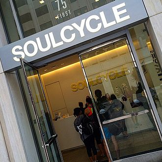 SoulCycle - Front entrance to the San Francisco SoulCycle studio.