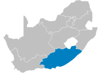 Location of Eastern Cape.
