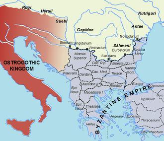 Herules - Polities in southeastern Europe c.520 AD before the Lombard destruction of the Herulian 'kingdom'