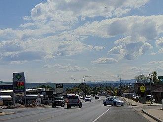 Salem, Utah - Looking southwest along Utah State Route 198 in Salem, May 2016
