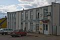 Soviet era building, Pilviskiai, Lithuania, 12 Sept. 2008 - Flickr - PhillipC.jpg