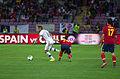 Spain - Chile - 10-09-2013 - Geneva - Arturo Vidal, Santiago Cazorla and Raul Arbeloa.jpg
