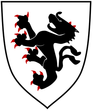 Bernhard von Spanheim - Carinthian ducal coat of arms until 1246