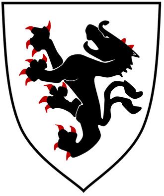 Sponheim family - Carinthian ducal coat of arms until 1246